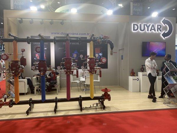 Duyar Vana-Intersec Fuarı